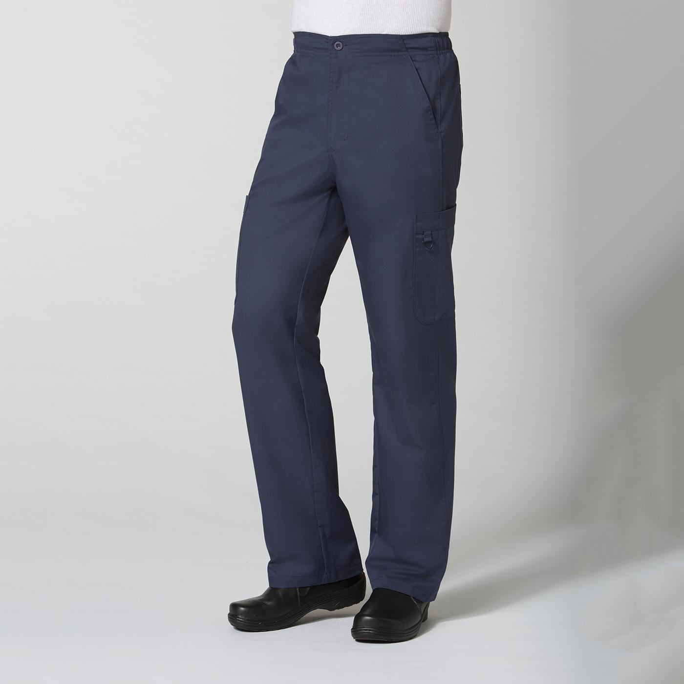 8308 Men S Half Elastic Cargo Pant