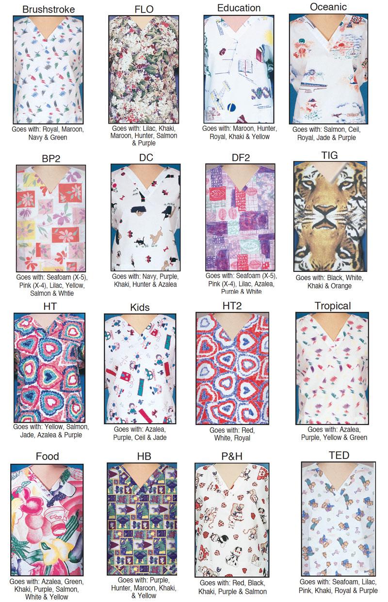 15d v neck dress print color chart nvjuhfo Gallery